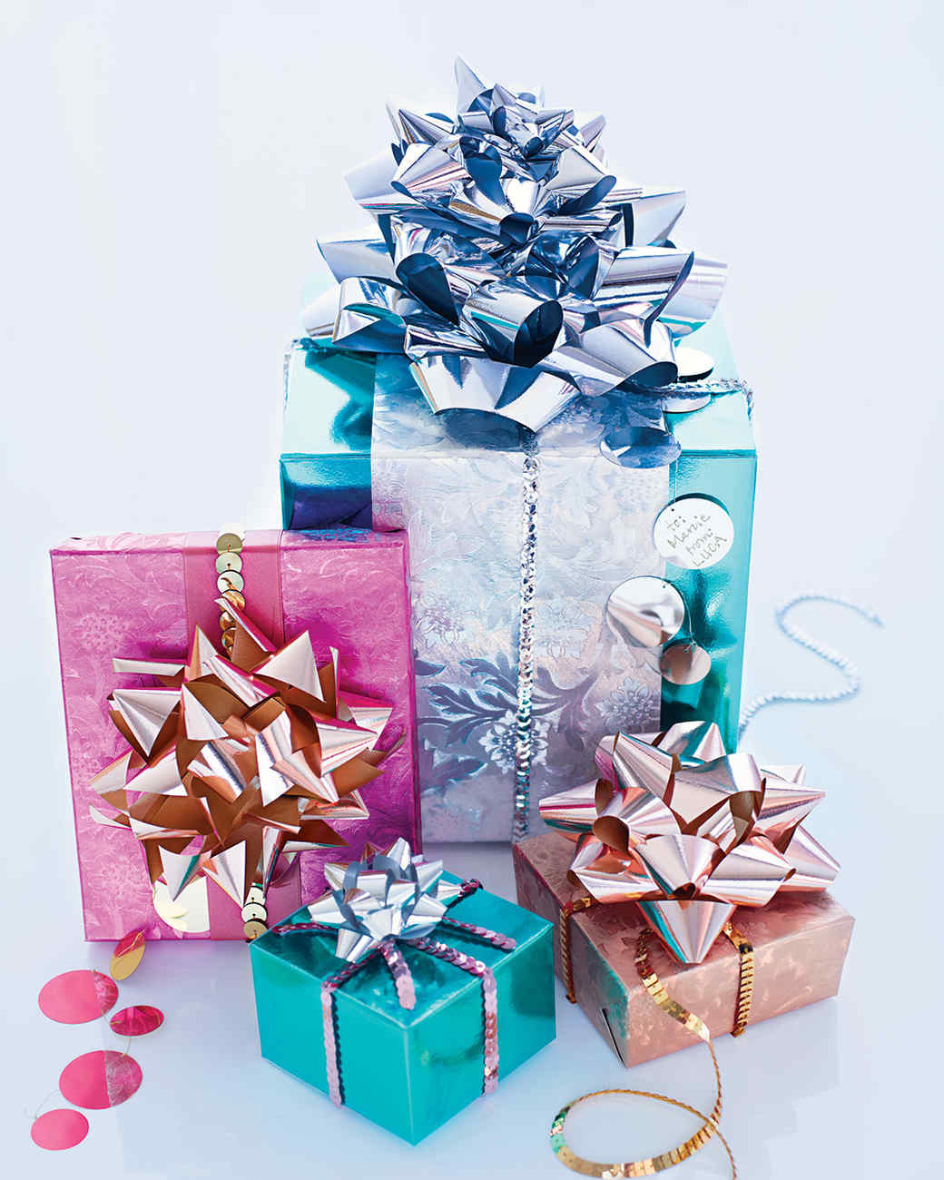 Ideas: Quick Gift-Wrapping Ideas
