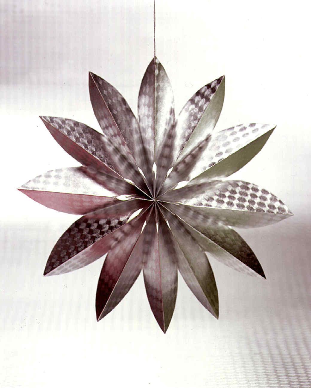 Homemade Christmas Star Ornament: Silver Star Ornaments & Video