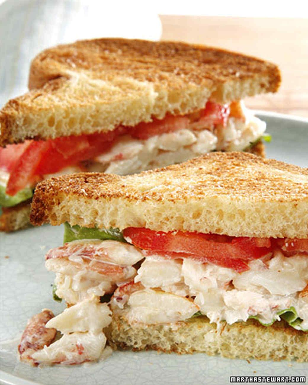 Crab Sandwich Recipe Amp Video Martha Stewart