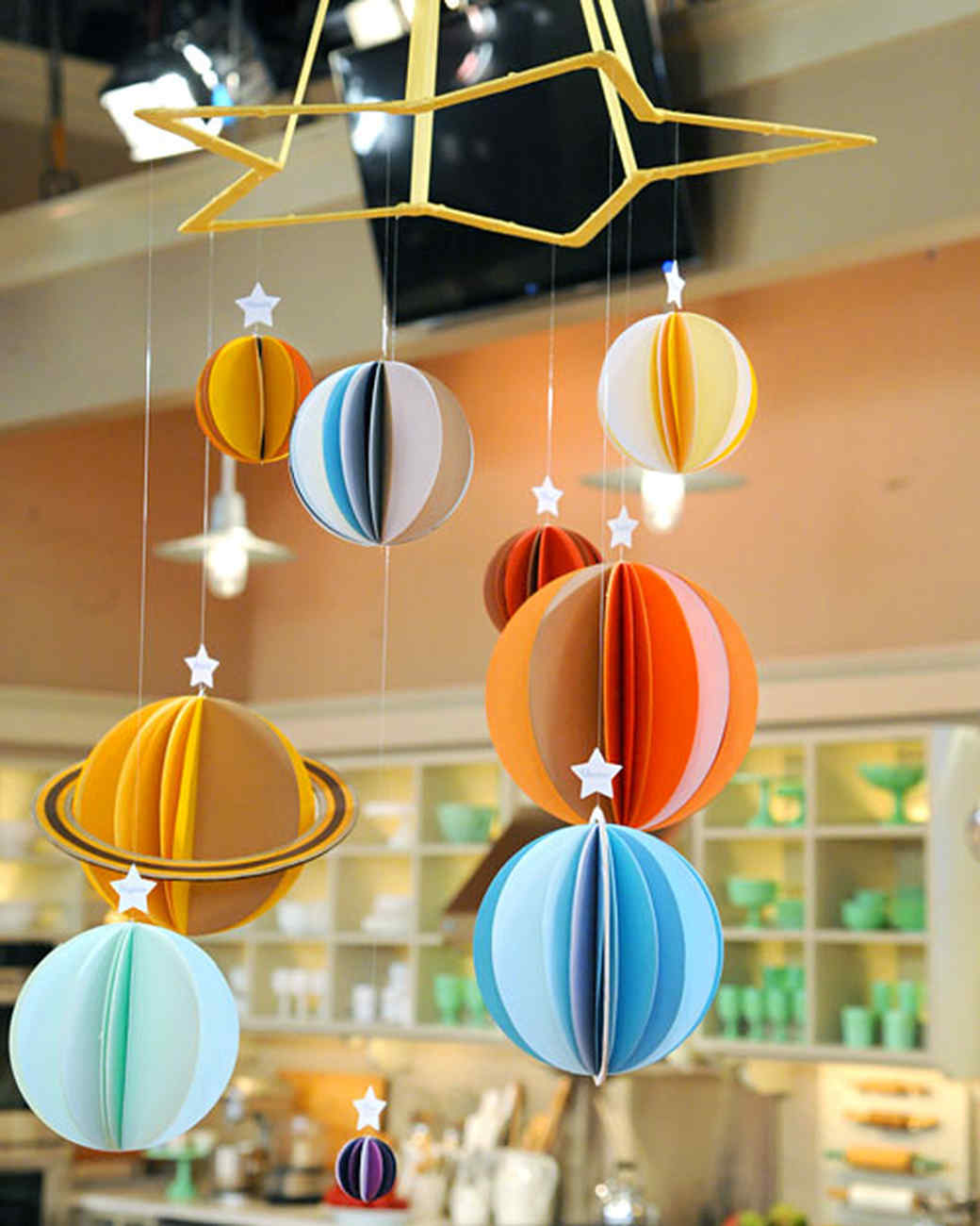 Solar System Mobile & Video | Martha Stewart