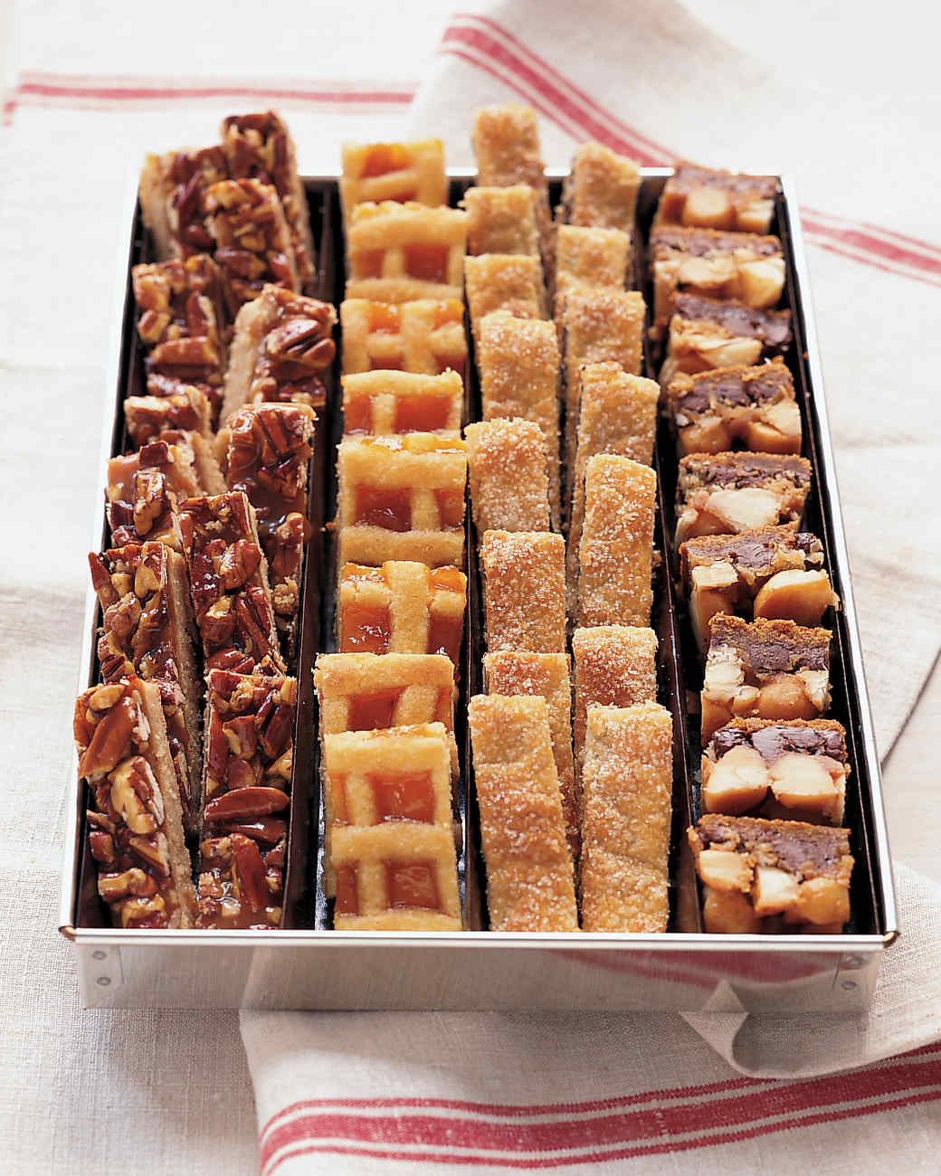Pecan Caramel Shortbread Recipe | Martha Stewart