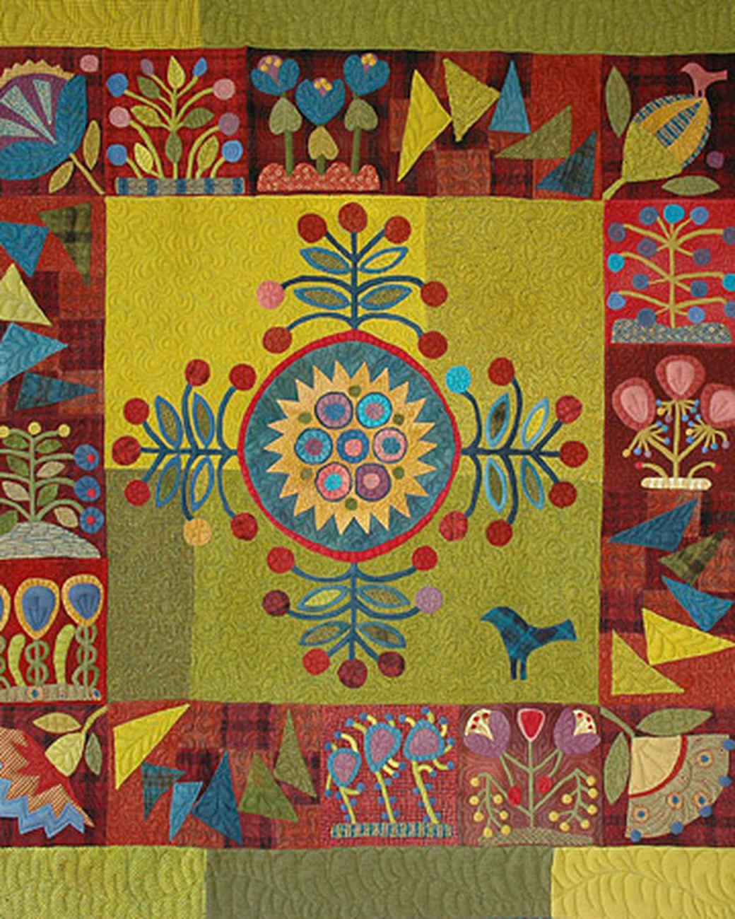 Sue Spargo S Patterned Quilts And Creations Martha Stewart