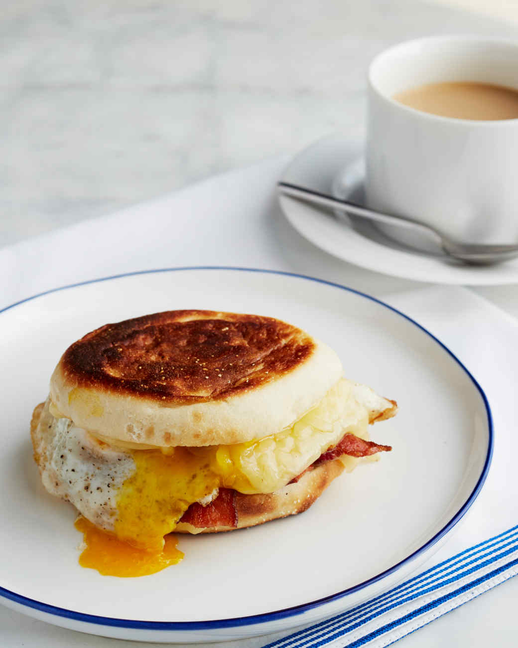 Egg Sandwich Recipe & Video | Martha Stewart
