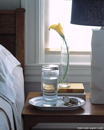 Bedside Water Glass