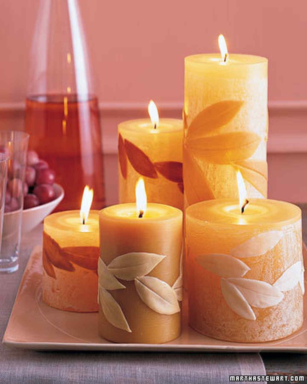 Как сделать свечку своими руками без воска
