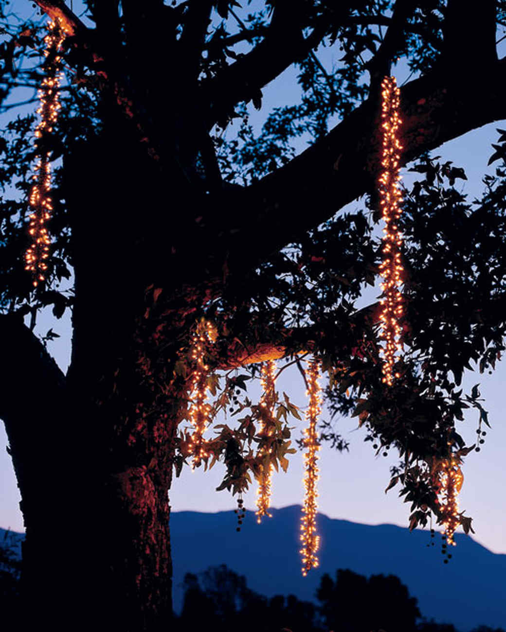 Outdoor Lighting: Icicles | Martha Stewart