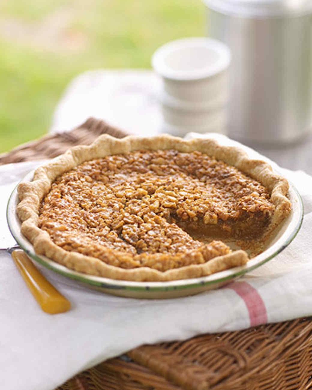 Washington Walnut Pie Recipe | Martha Stewart