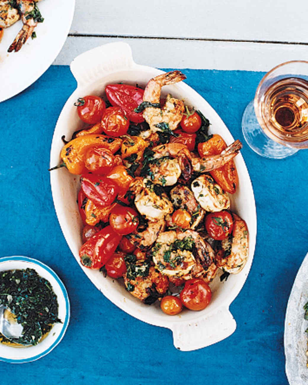 Grilled Shrimp with Chimichurri