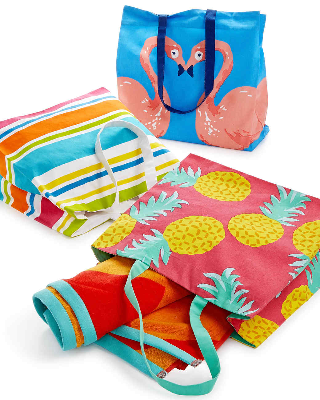 beach totes towels