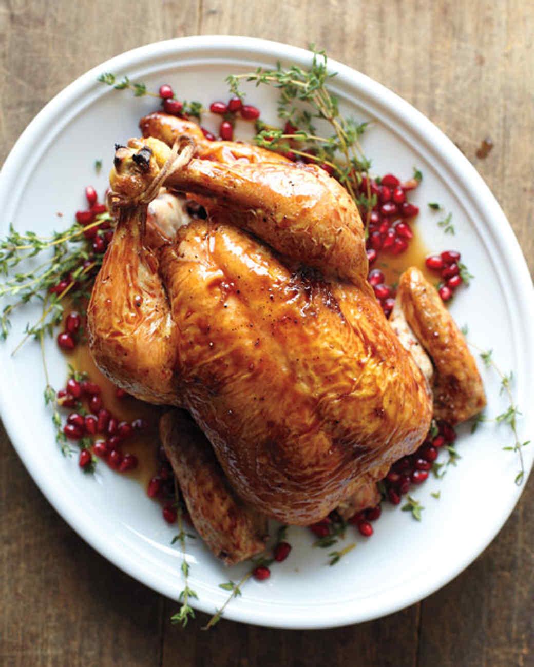 Pomegranate Roasted Chicken Recipe Martha Stewart