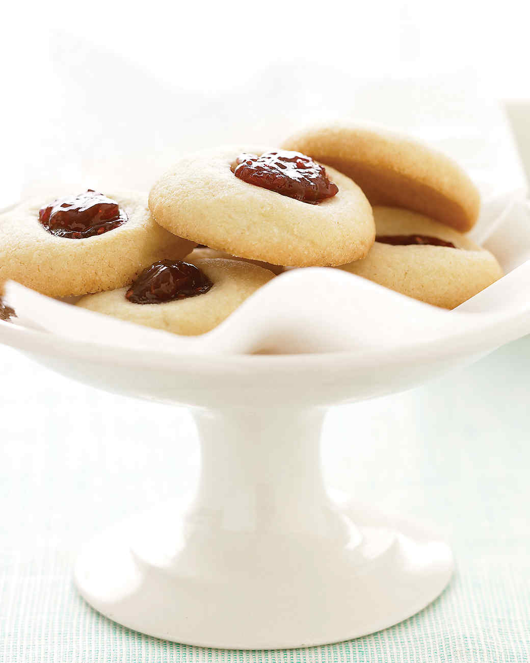 Aunt Maggie's Jam Thumbprint Cookies Recipe | Martha Stewart