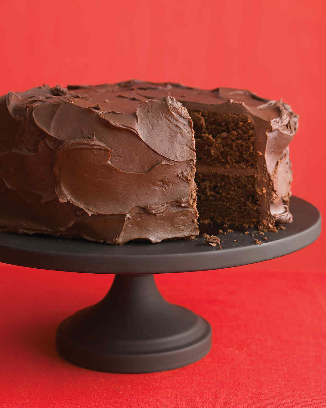 Chocolate cake recipe with ganache icing