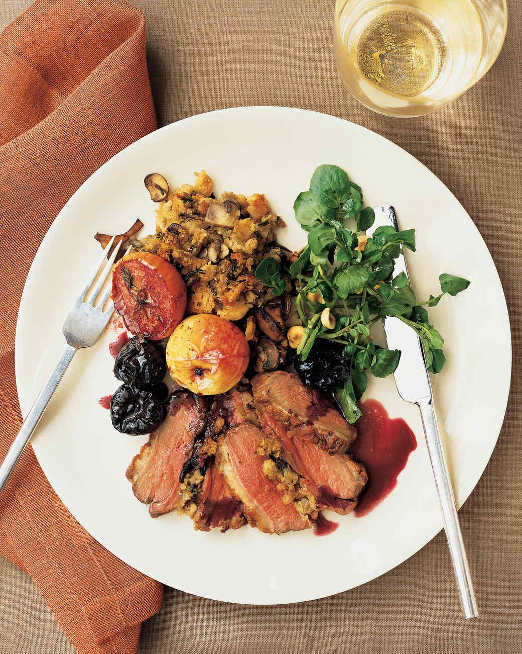 Beyond Turkey Thanksgiving Main Dishes Martha Stewart