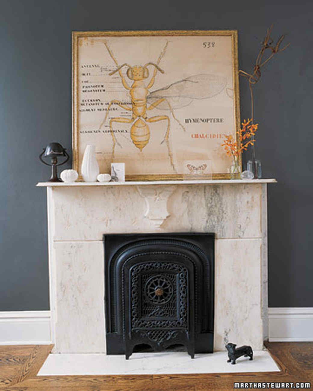 Easy Elegance - Straight From The Hearth: Beautiful Fireplace Surround Ideas