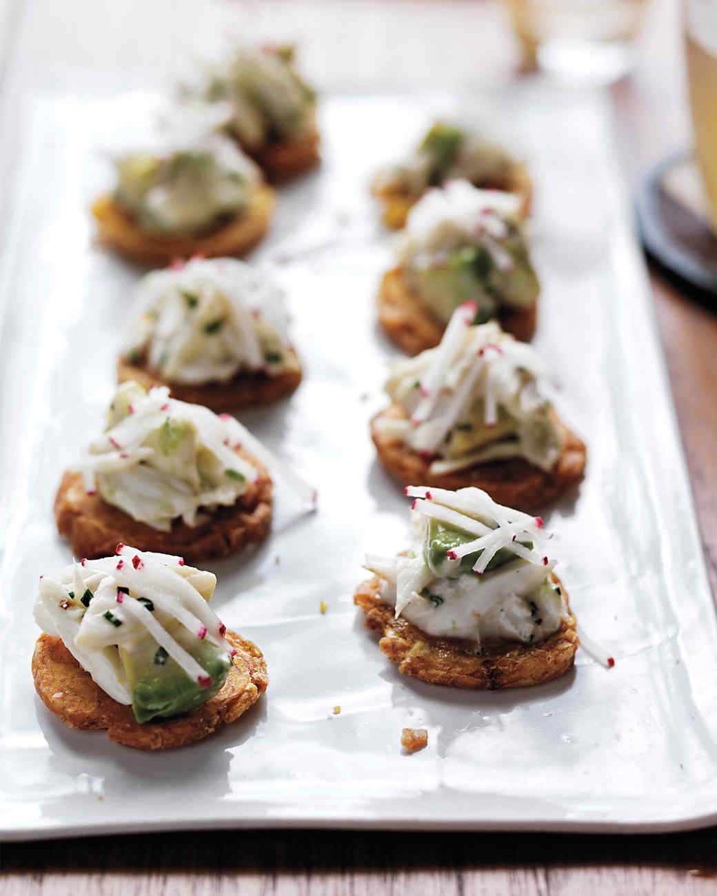 Baby shower appetizer recipes martha stewart for Canape party ideas