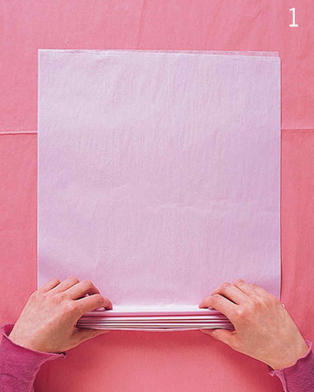 Сделать большой лист бумаги своими руками