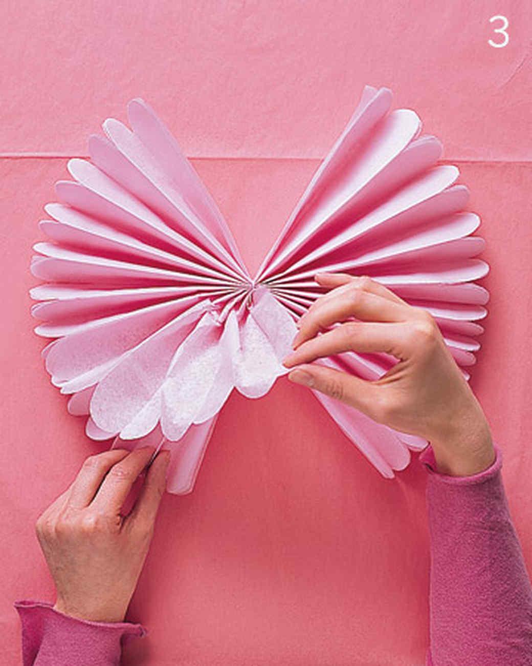 Как сделать шар пушистый из бумаги