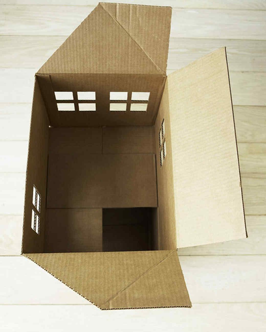 Как из картона сделать окошко