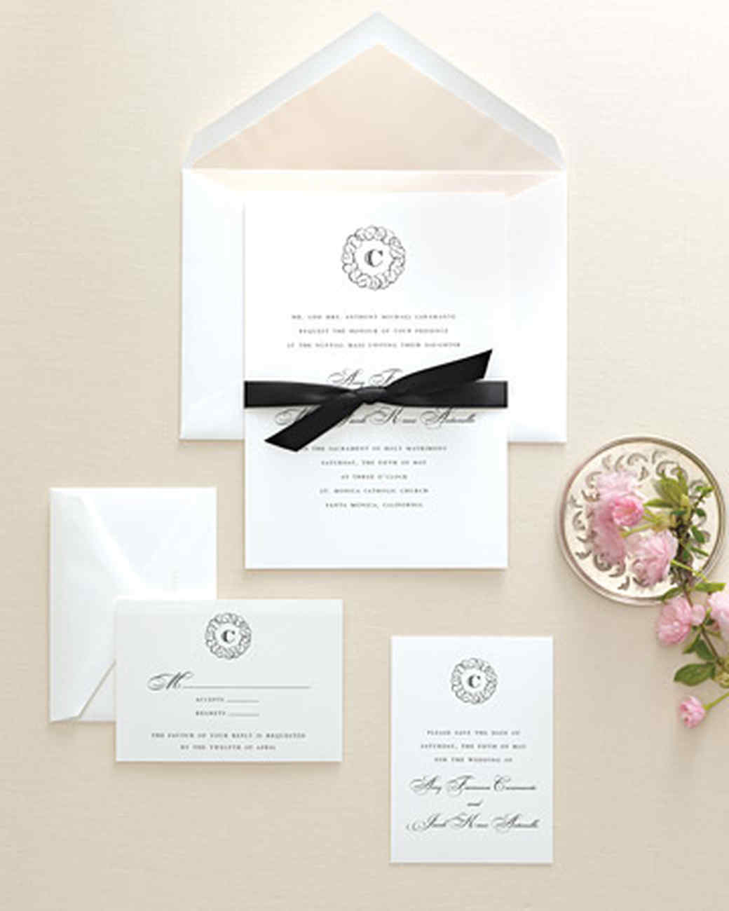 wedding invitation kits martha stewart - new wedding, Wedding invitations