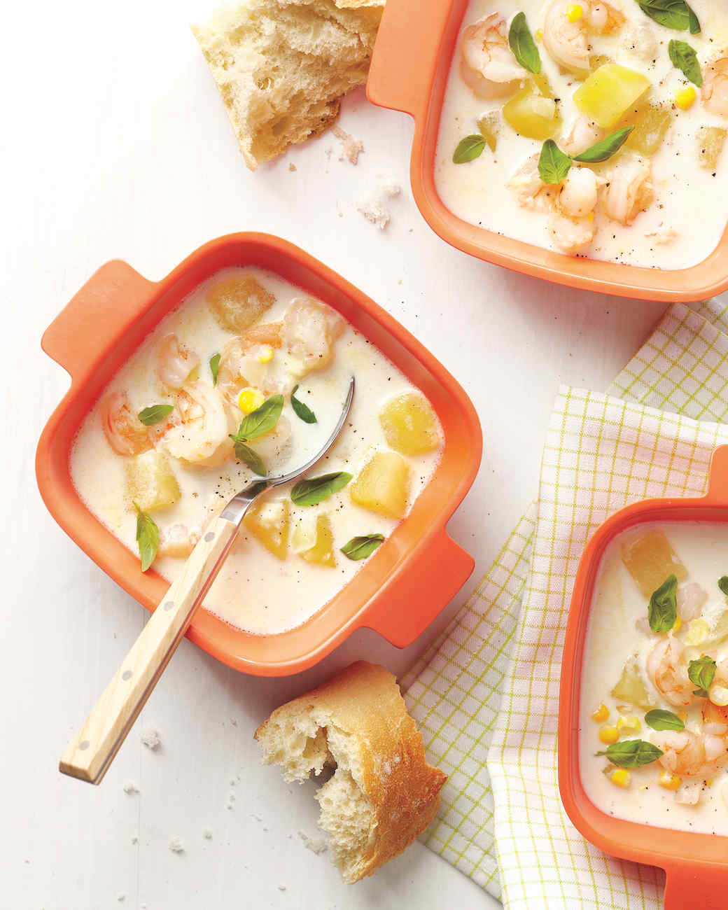 Our Most Comforting Seafood Chowder Soup And Stew Recipes Martha Stewart