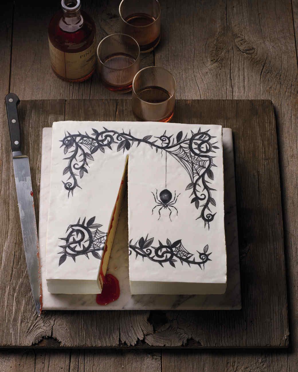 Tattoo Cake Recipe  Martha Stewart