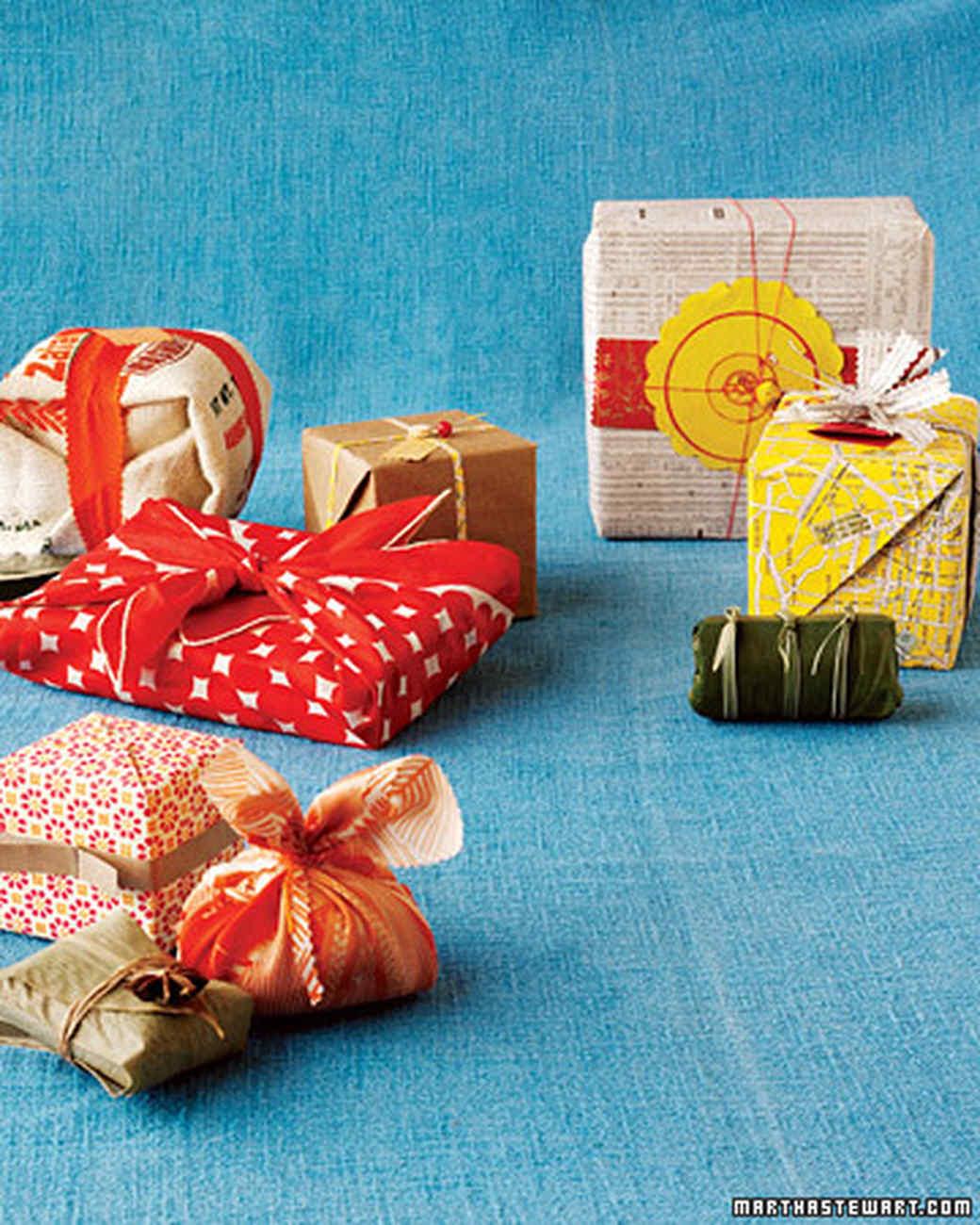 Eco Gift Wrap