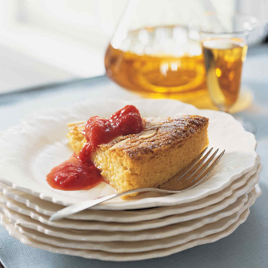 Almond Custard Cake
