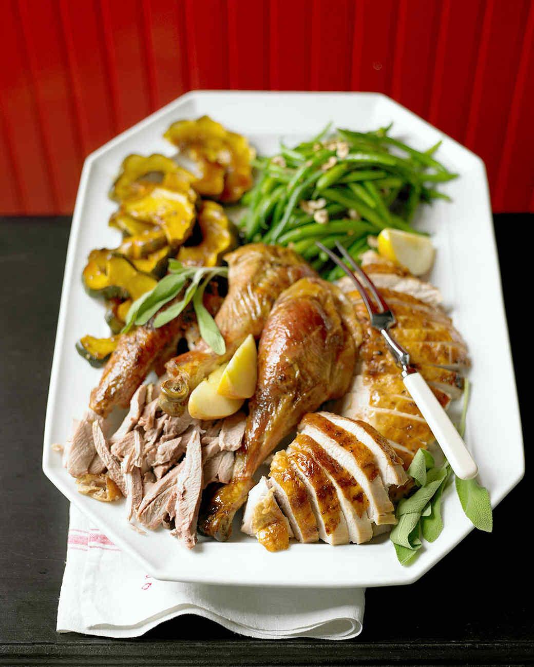 Maple Glazed Turkey Recipe Martha Stewart