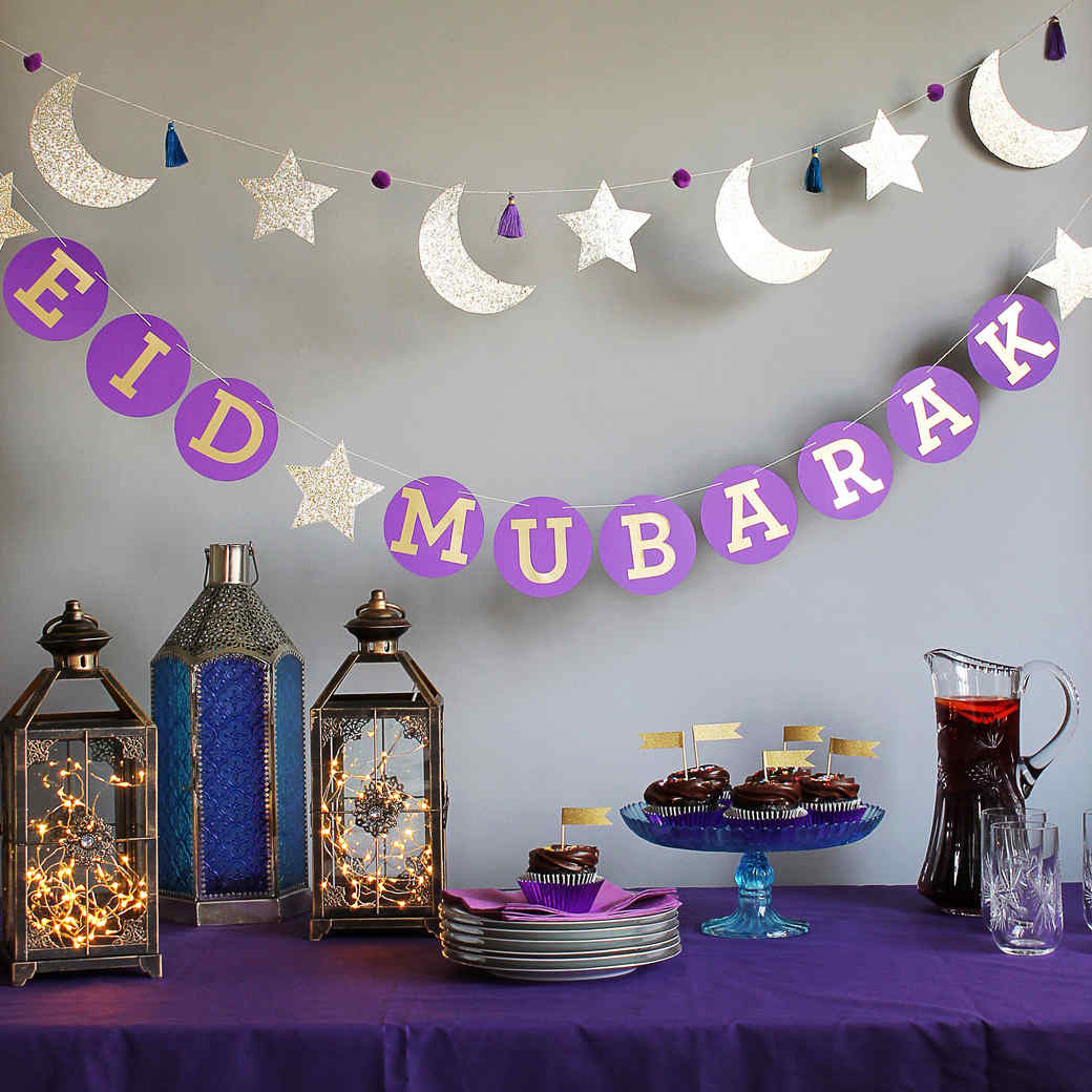 Diy party crafts decor martha stewart for Ramadan decorations home