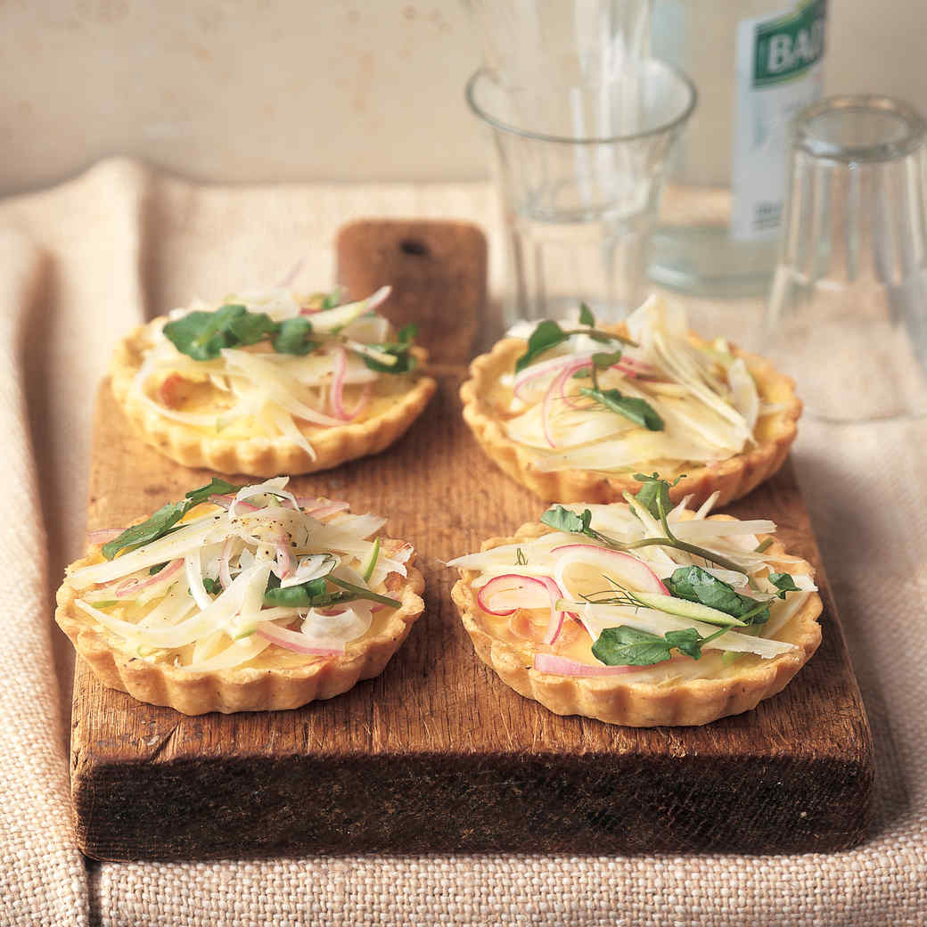 Salad-Quiche Tartlets