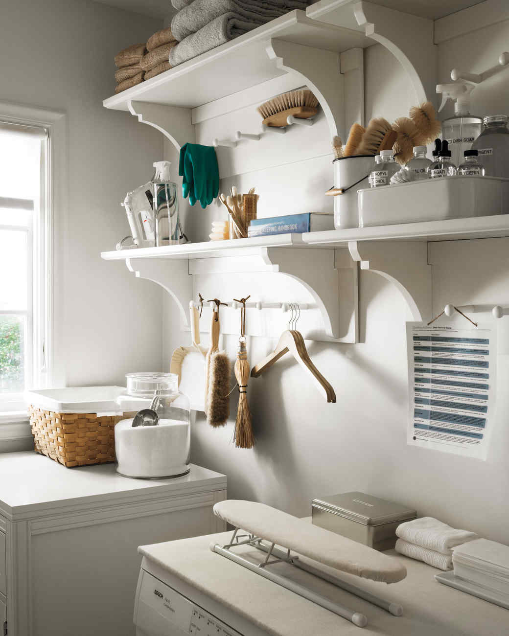 Martha's Laundry Room Redo: Tips to Organize a Small Space ...