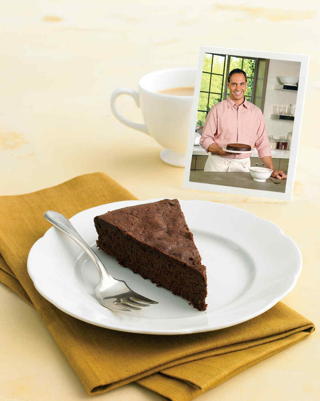 John's Chocolate-Truffle Torte Recipe & Video | Martha Stewart