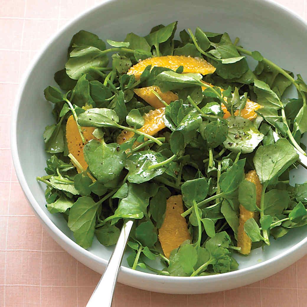 Салат из кресс-салата