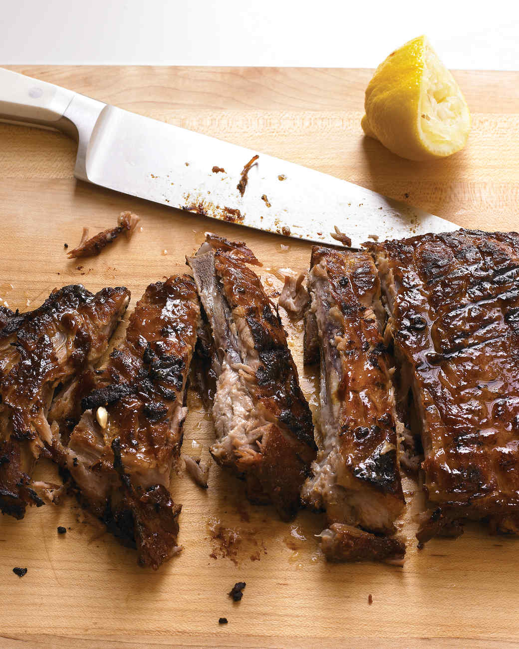 Honey-Chipotle Glazed Ribs Recipe | Martha Stewart