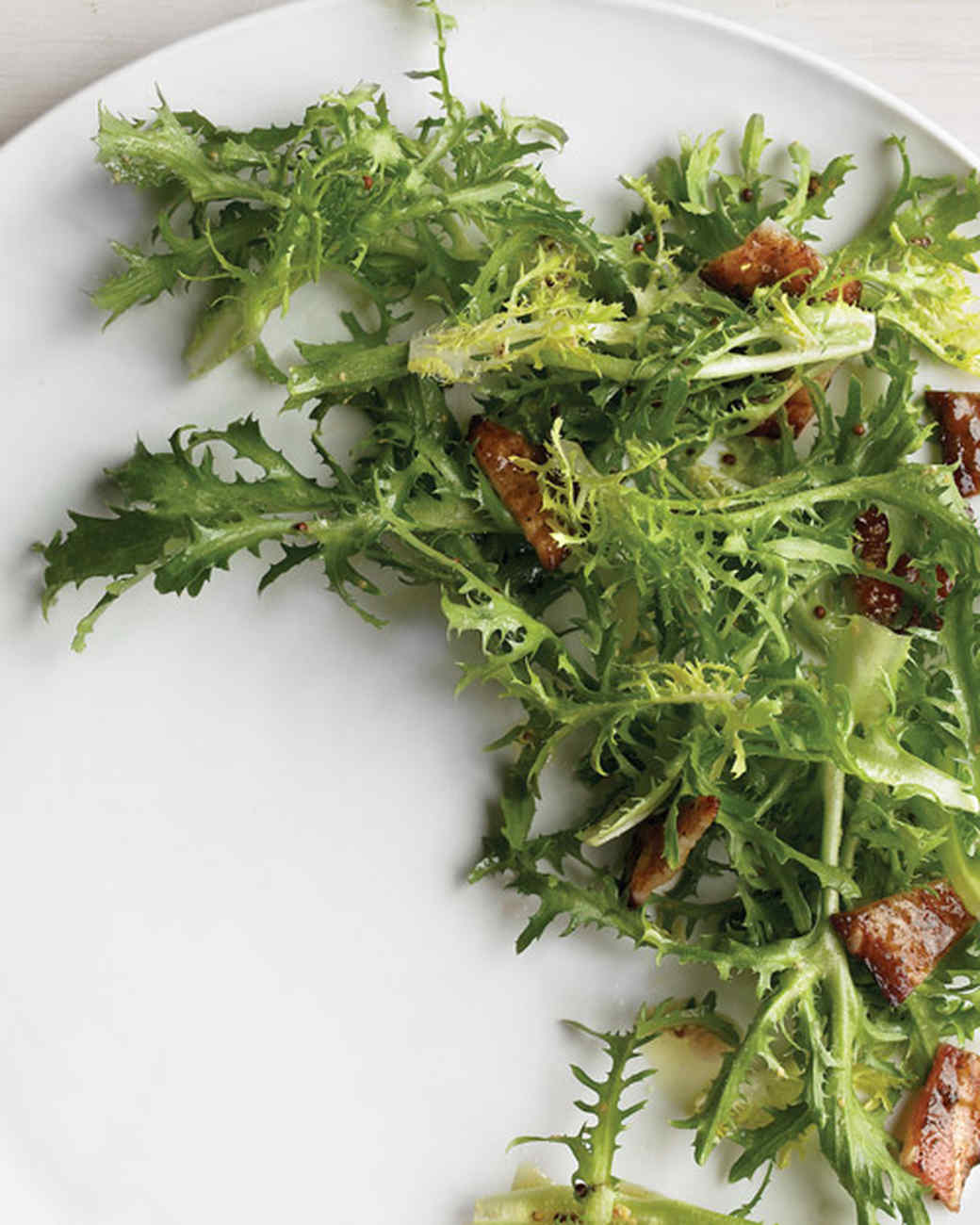 Frisee Salad with Brown-Sugar Bacon