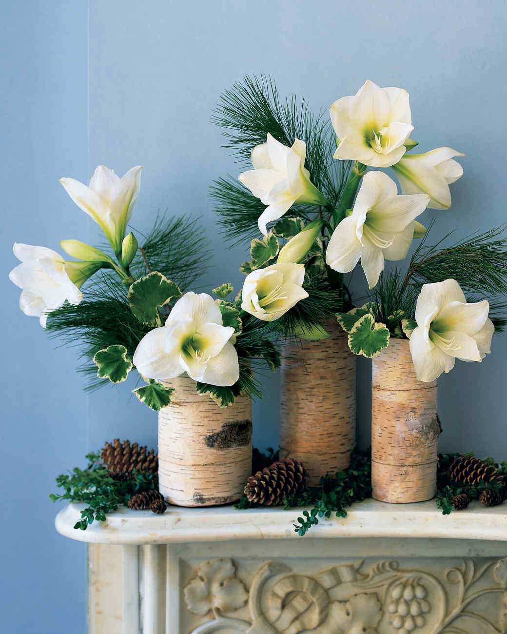 flower arrangements for holidays martha stewart