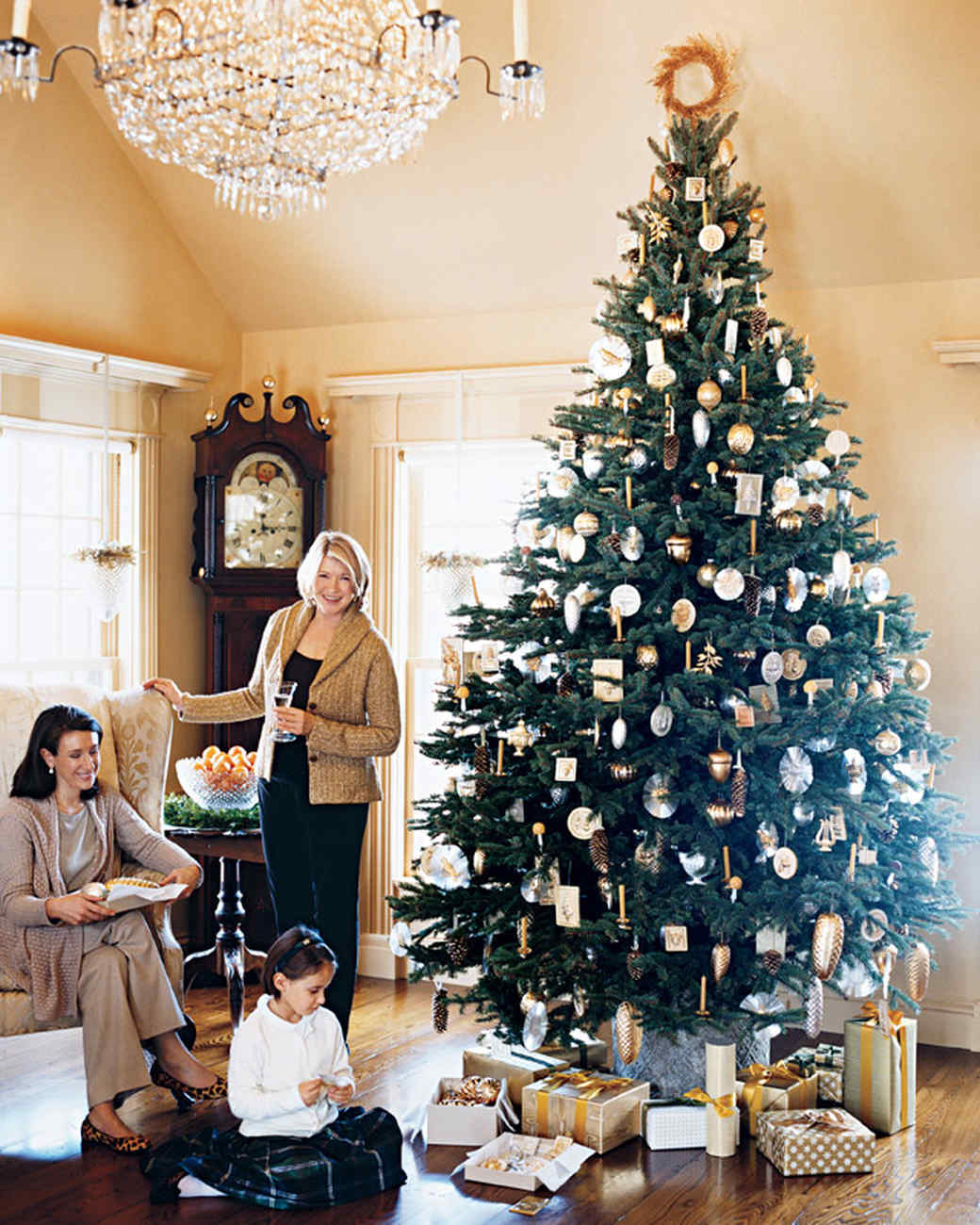 Homes Decorated For Christmas On The Inside: Martha's Holiday Decorating Ideas