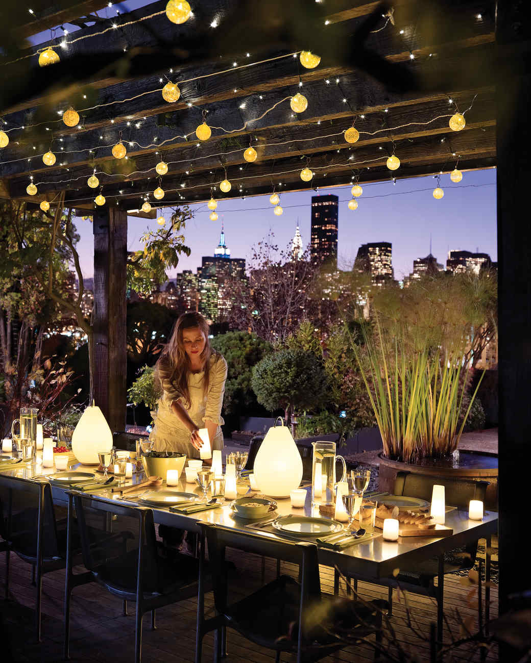 Landscape Lighting Ideas: Party Lighting Ideas