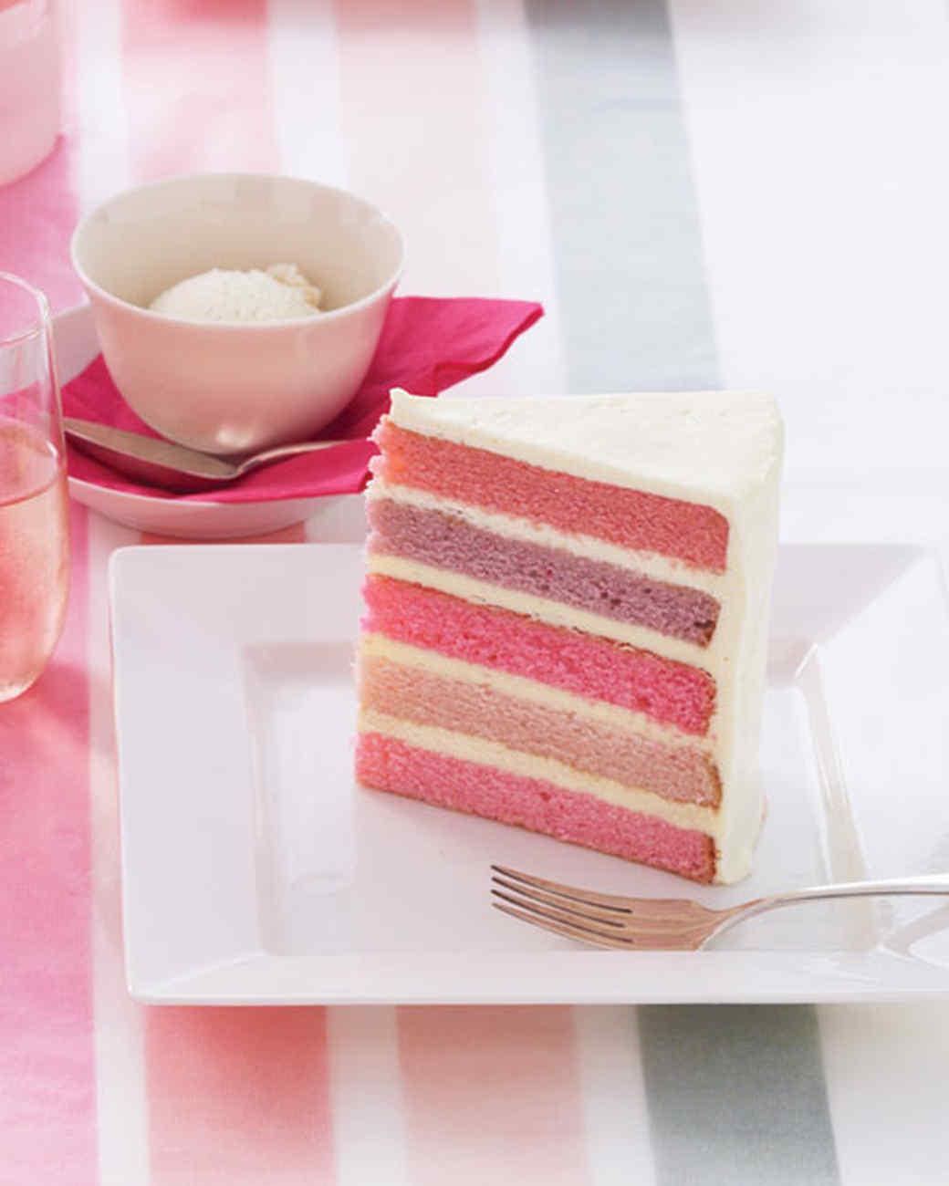 Martha Stewart Pastel Layer Cake