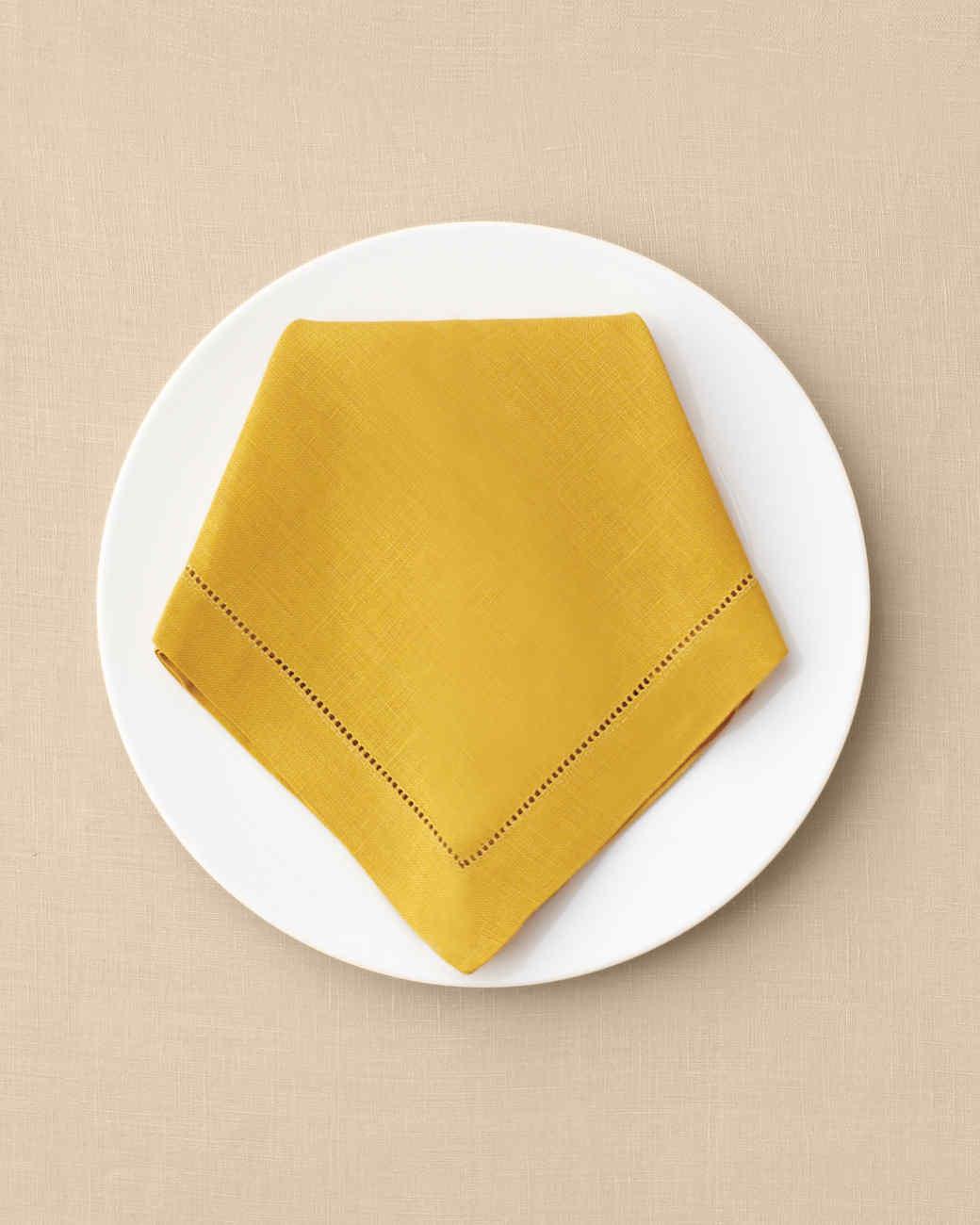 The Art Of Napkin Folding One Napkin 12 Ways Martha