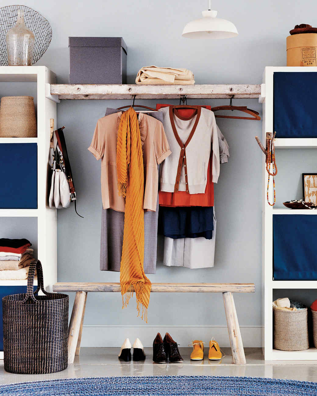 bedroom organization tricks martha stewart