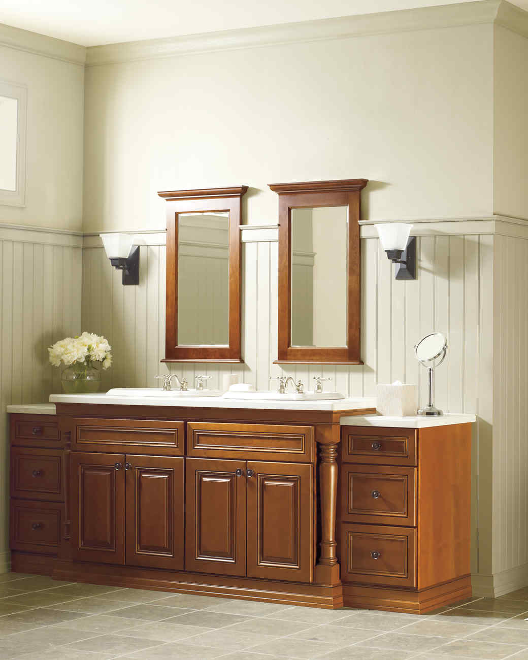 Martha stewart living cabinet solutions from the home depot martha stewart Martha stewart bathroom collection
