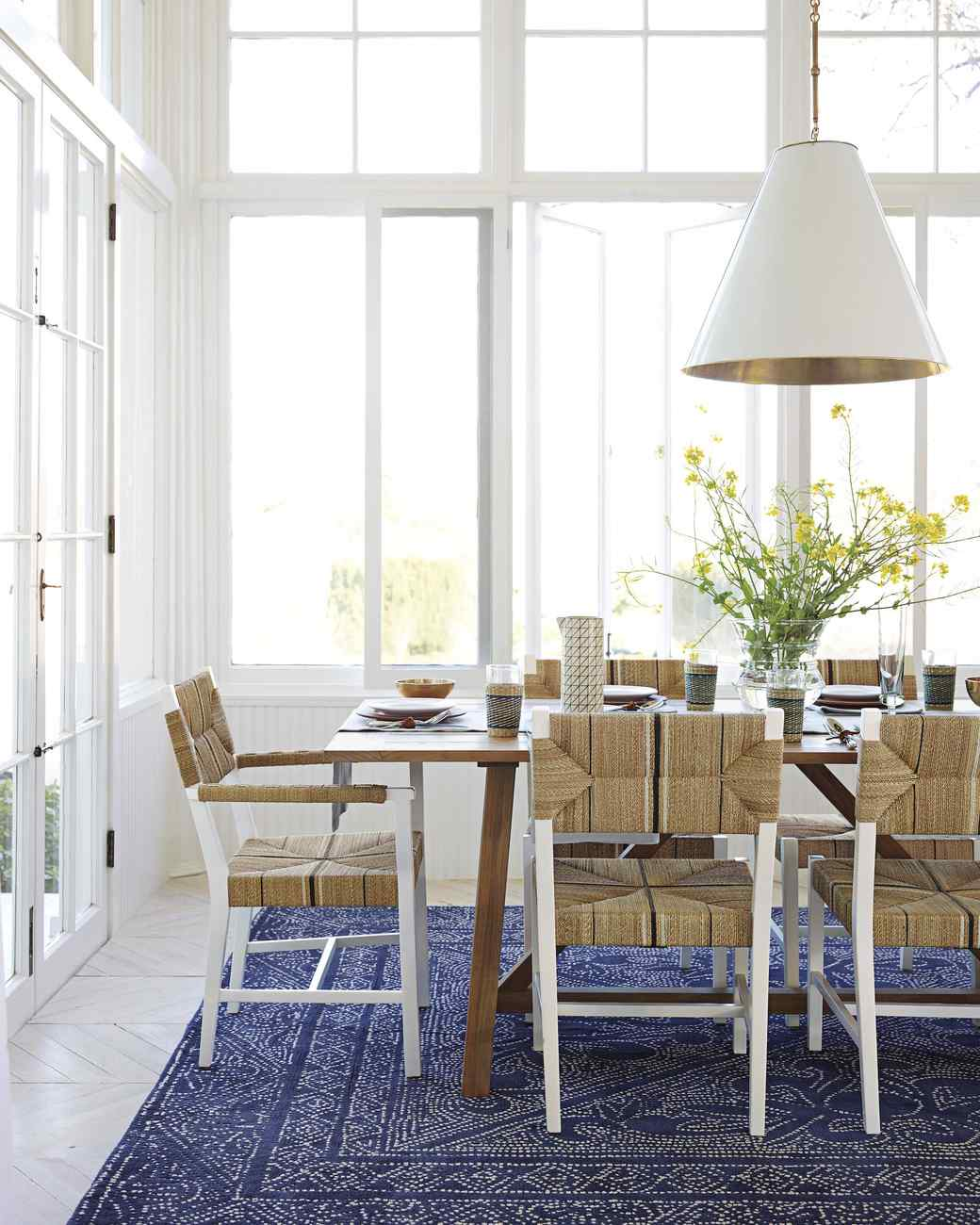 Feast Your Eyes Gorgeous Dining Room Decorating Ideas Martha - Martha stewart dining room table