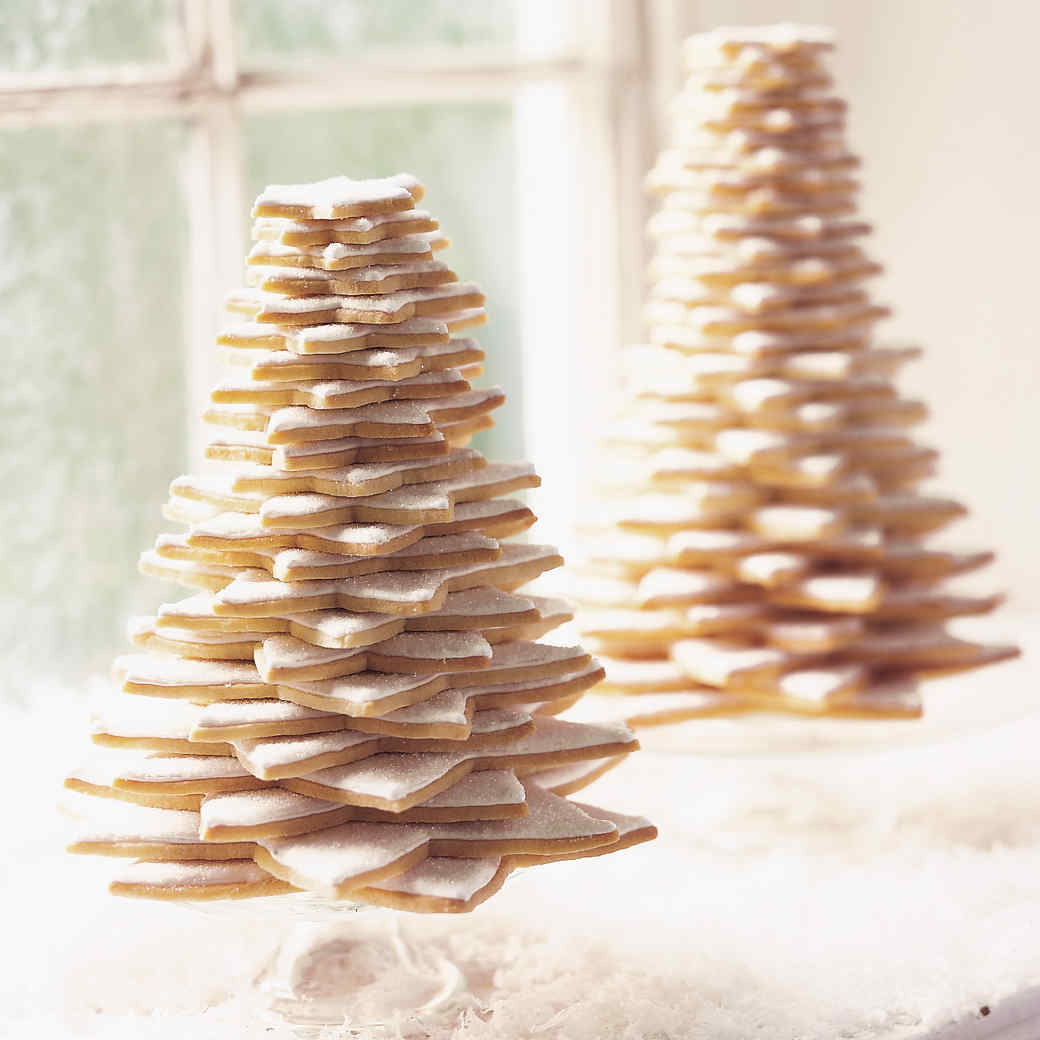 Star cookie tree recipe