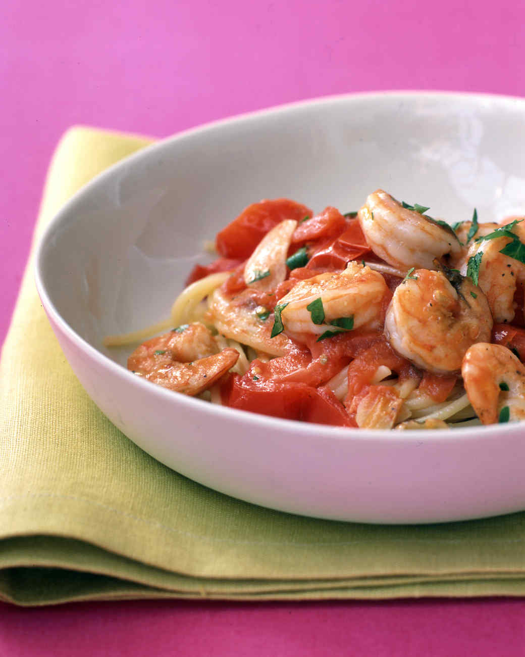 Easy Shrimp and Tomatoes