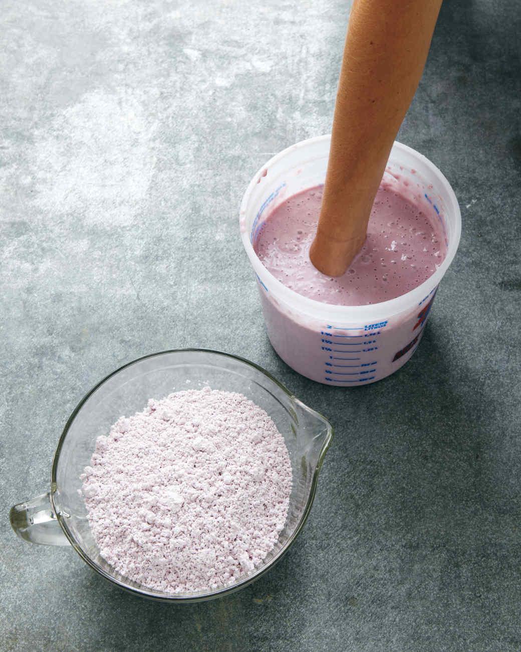 Plaster Powder To Water : Plaster hands martha stewart