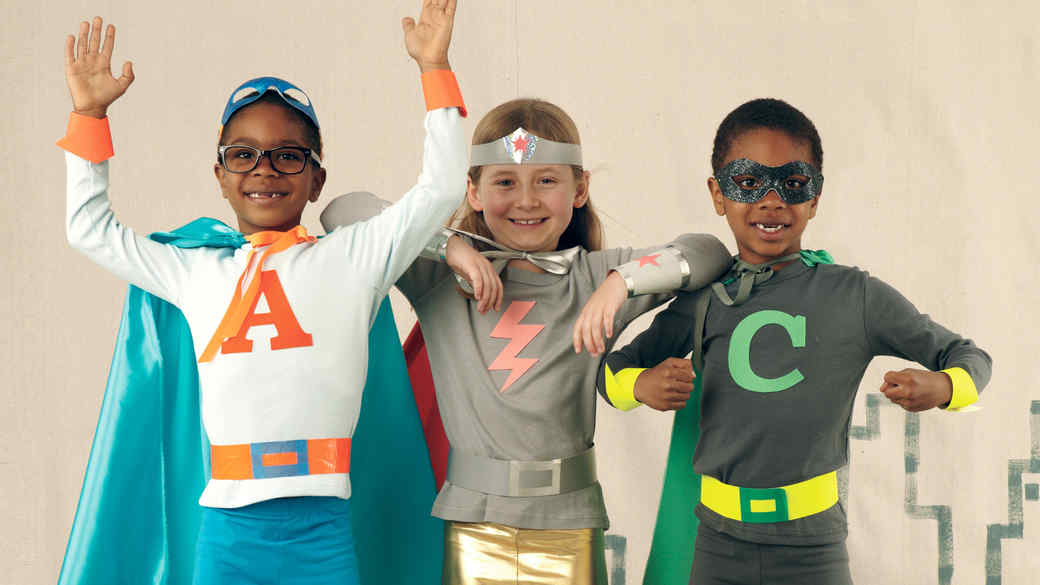 10 Easy Costumes Kids Can Make Themselves