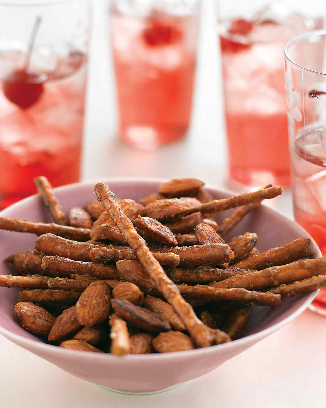 Spicy-Sweet Pretzel Mix Recipe | Martha Stewart
