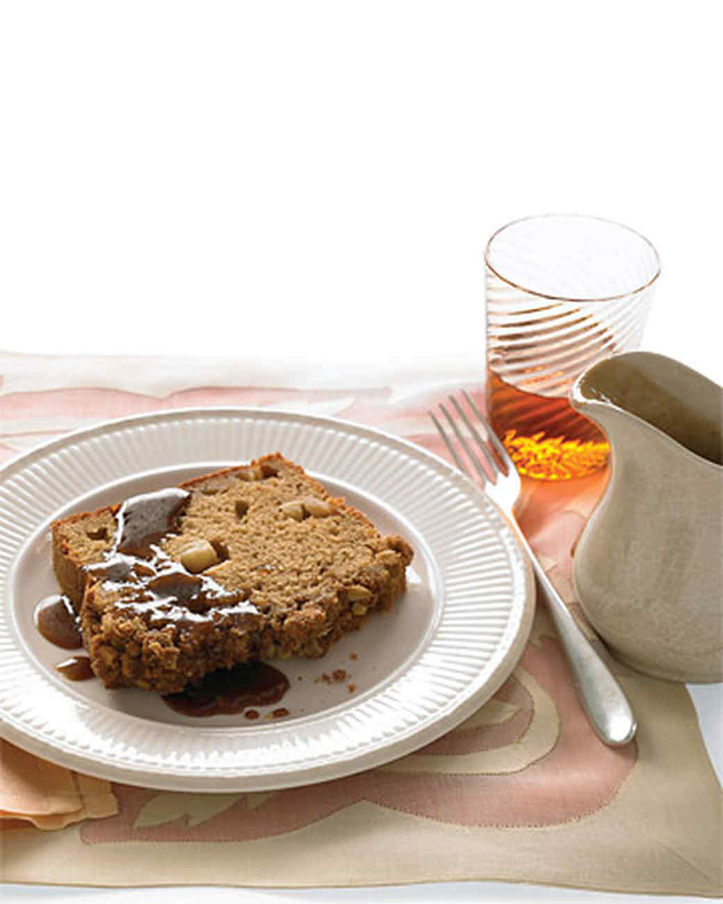 Apple Spice Cake With Caramel Sauce Recipe