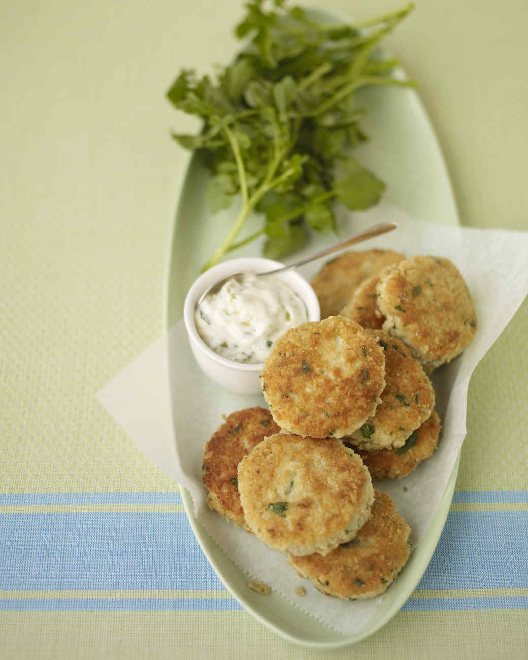 Lemon-Horseradish Fish Cakes Recipe | Martha Stewart